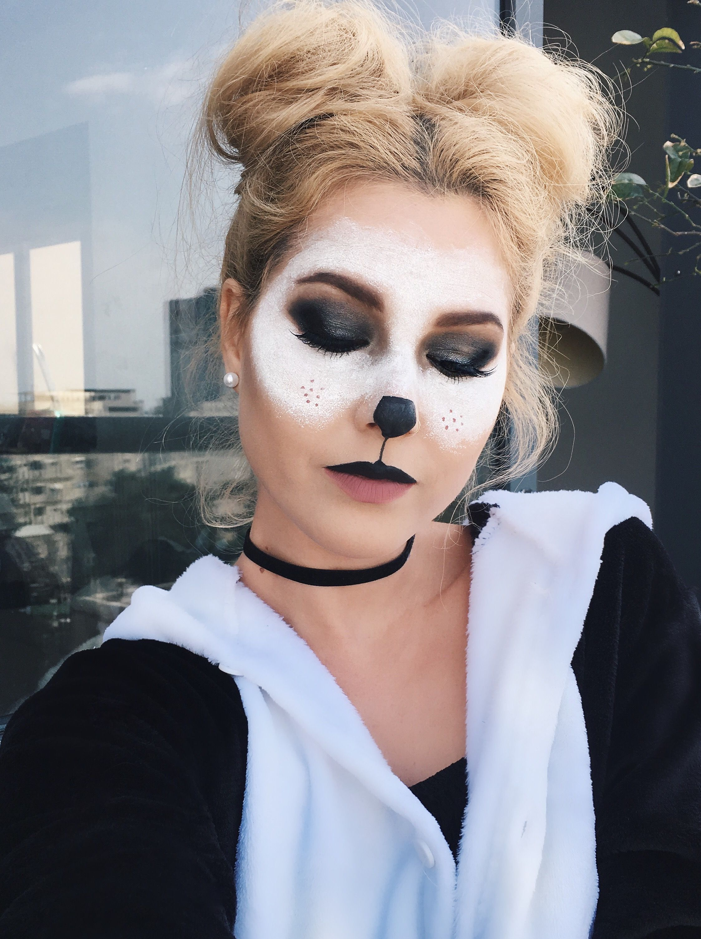 panda eye makeup tutorial