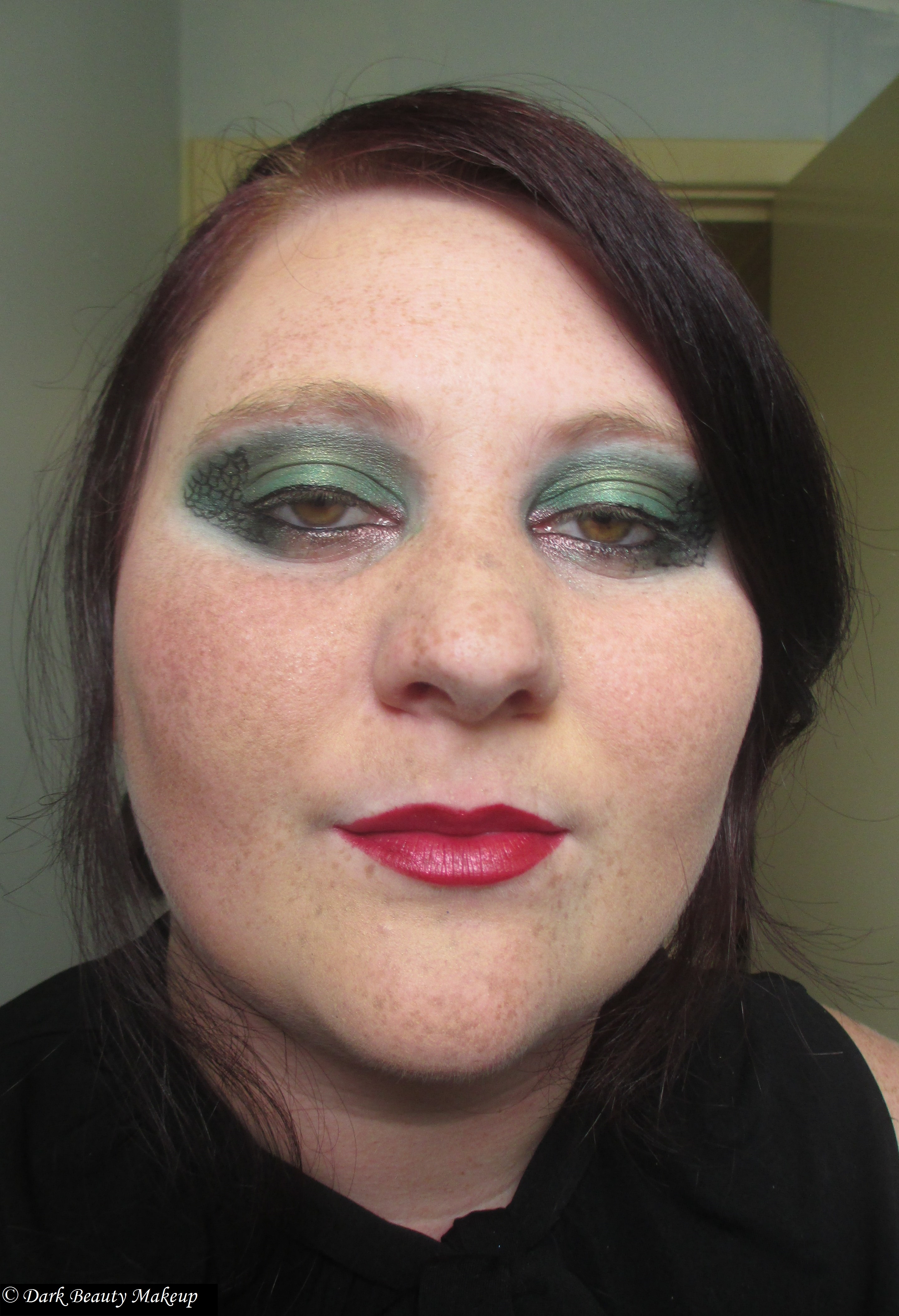 thin lizzy makeup tutorial