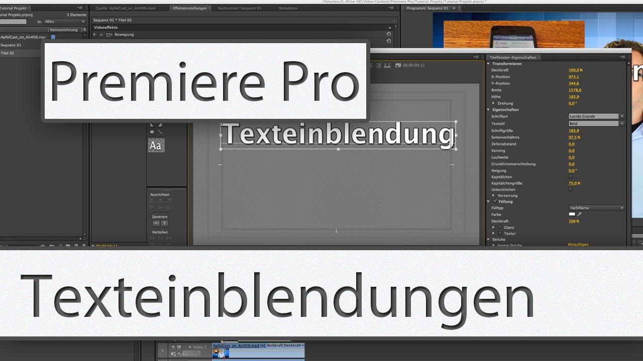 tutorial premiere pro cs6
