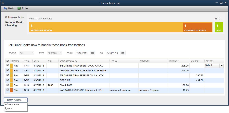quickbooks online banking tutorial