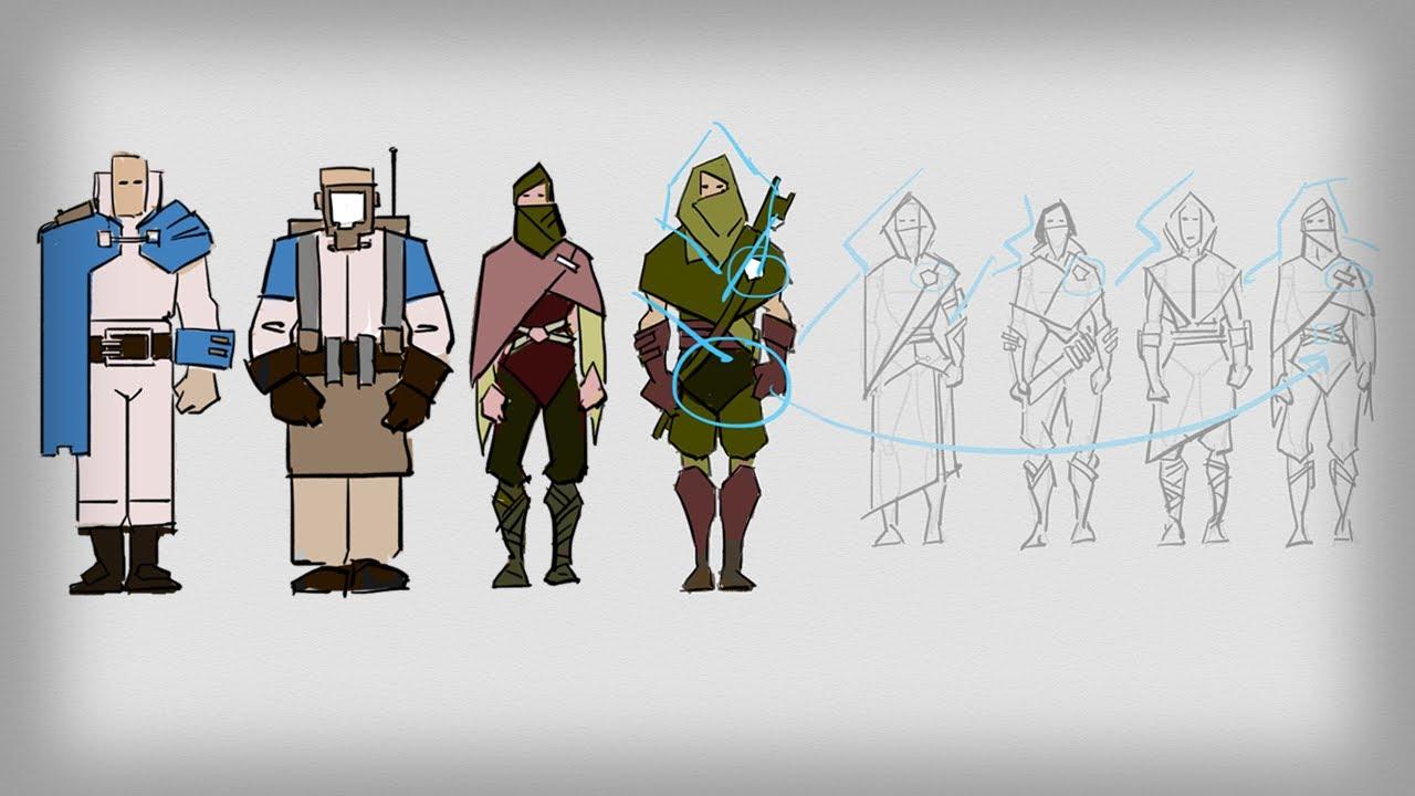character design tutorial photoshop