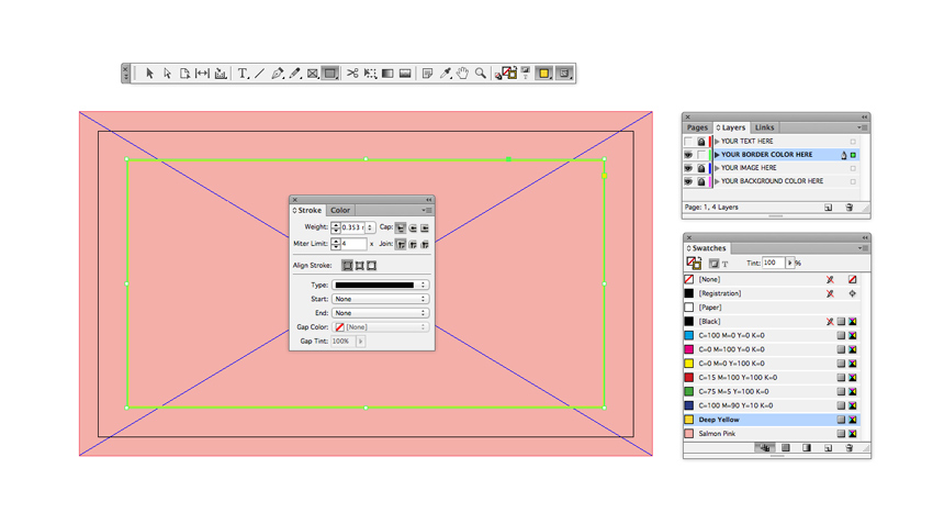 indesign business card tutorial
