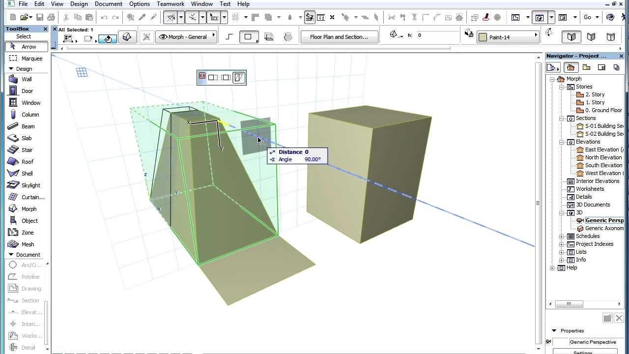 archicad morph tool tutorial
