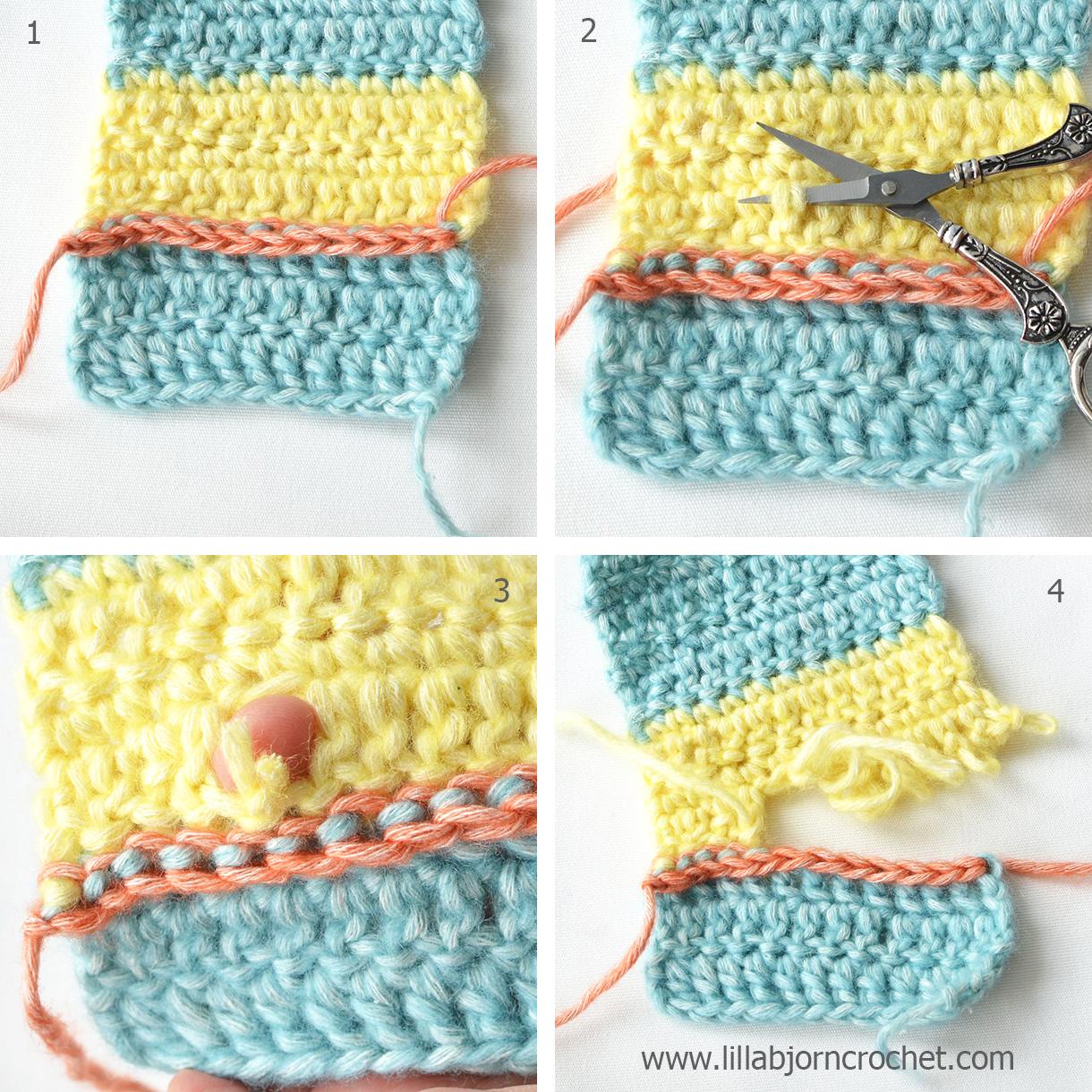 surface slip stitch tutorial