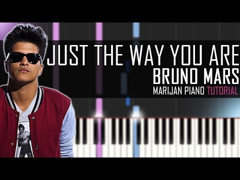 the way it is piano tutorial