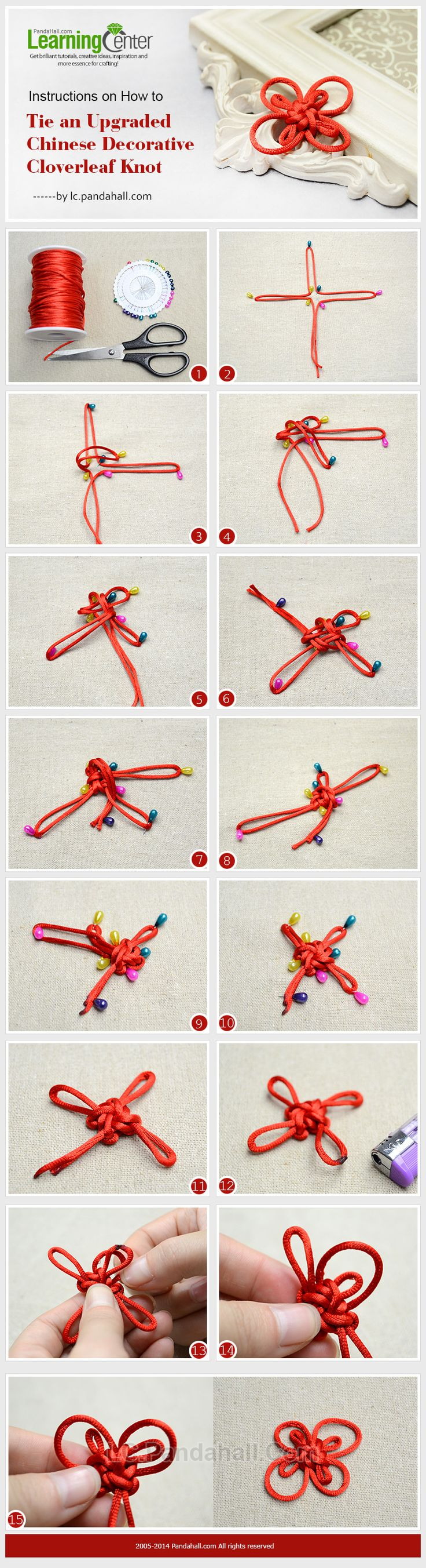 chinese knot tying tutorial