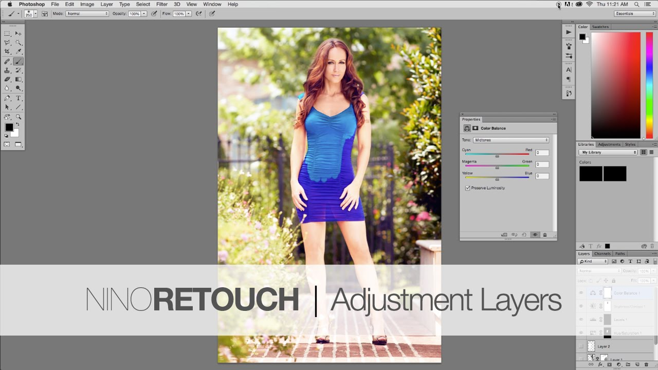 fashion photo retouching tutorial