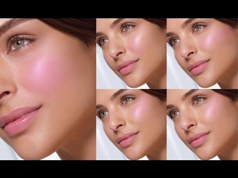 how to apply blush tutorial
