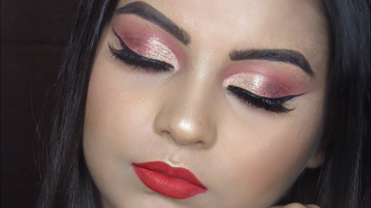 huda beauty palette tutorial