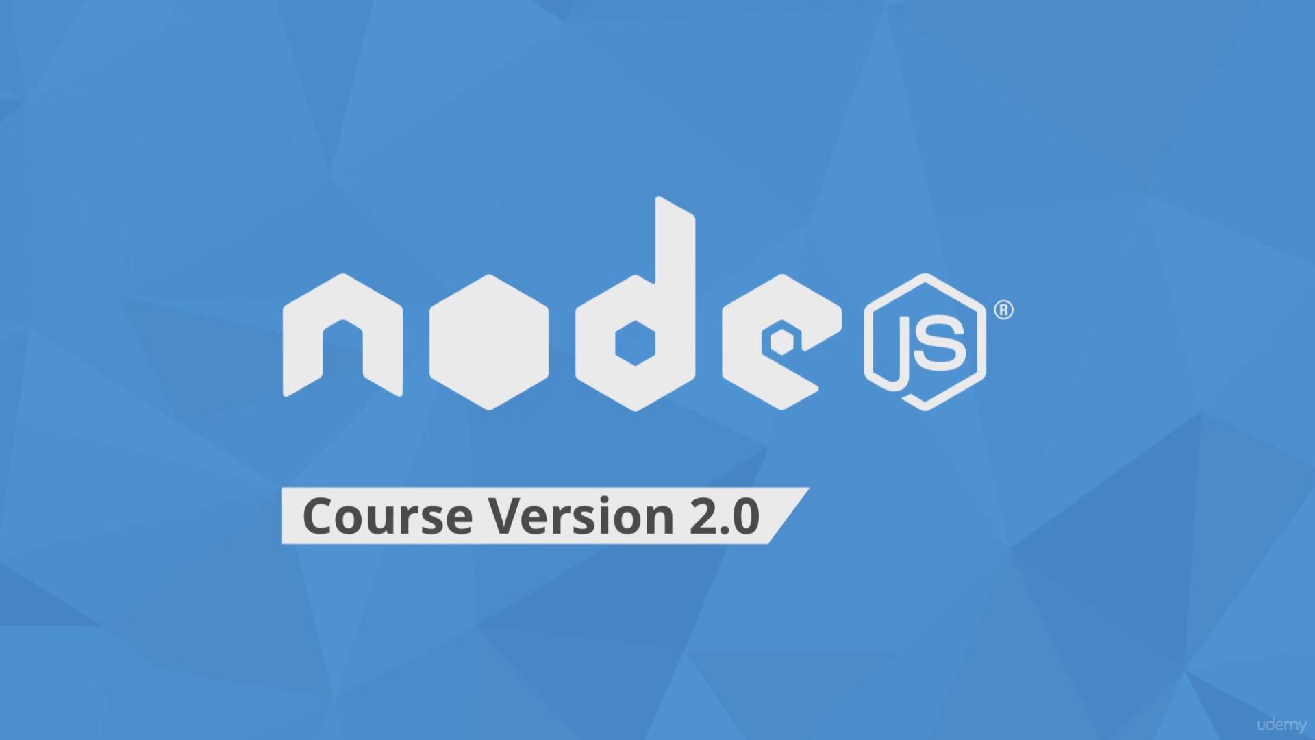 node js tutorial udemy