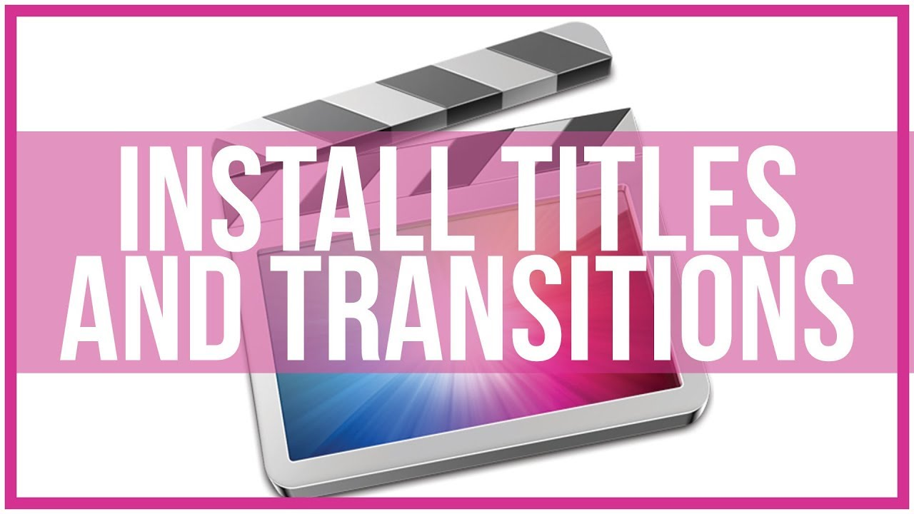 final cut pro transitions tutorial