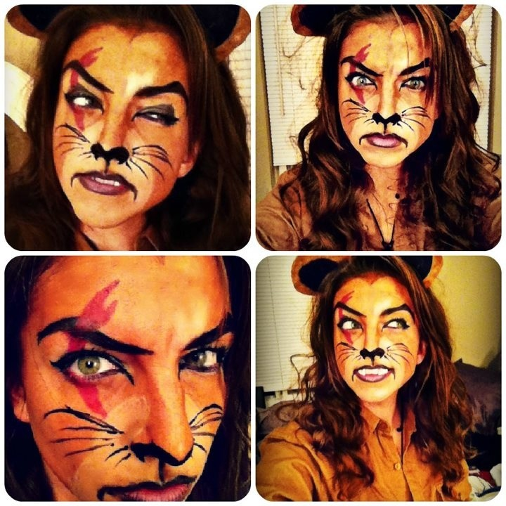 scar makeup tutorial lion king