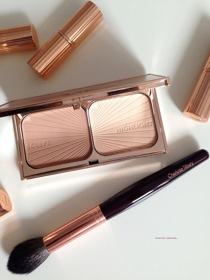 charlotte tilbury bronze and glow tutorial