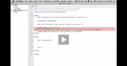 web design tutorial video