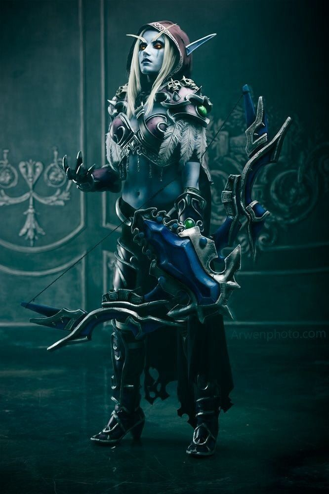 sylvanas windrunner cosplay tutorial