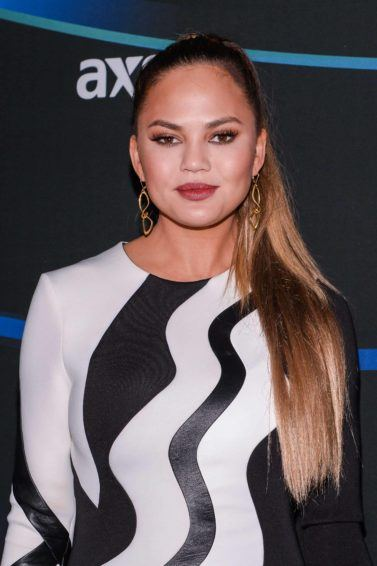 chrissy teigen hair tutorial
