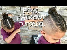 two braid man bun tutorial