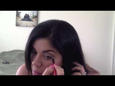 anne hathaway eye makeup tutorial