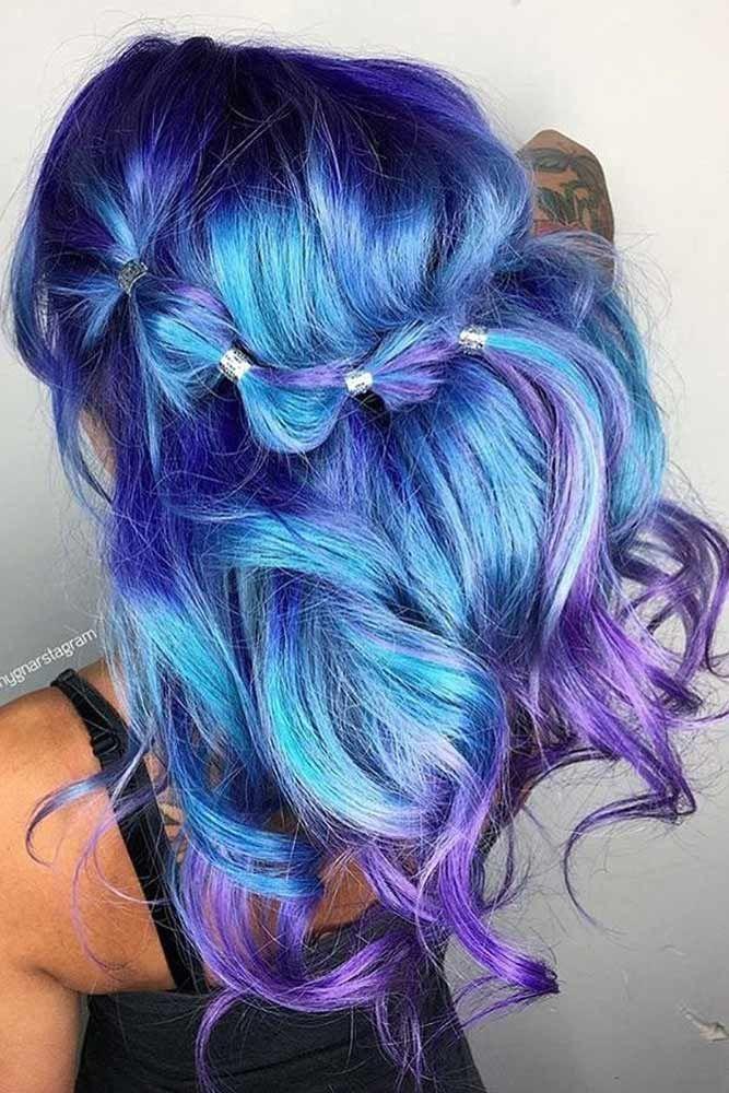 rainbow ombre hair tutorial