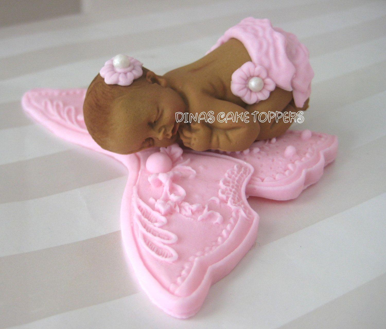 fondant baby mold tutorial