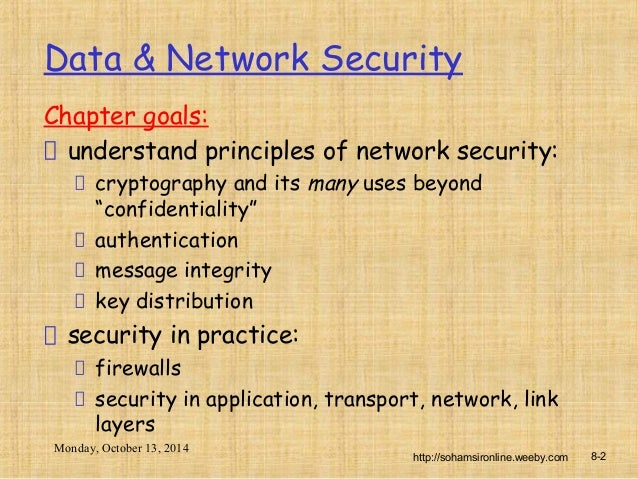cryptography and network security tutorial