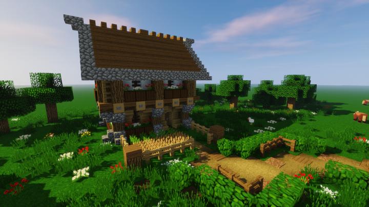 minecraft starter house tutorial