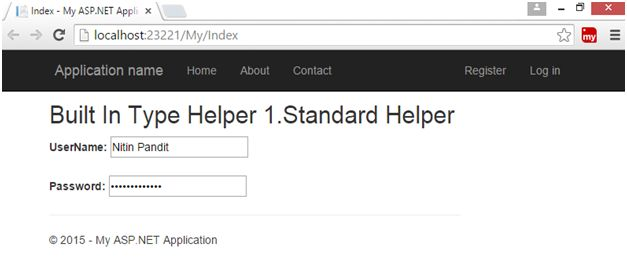asp net mvc html helpers tutorial