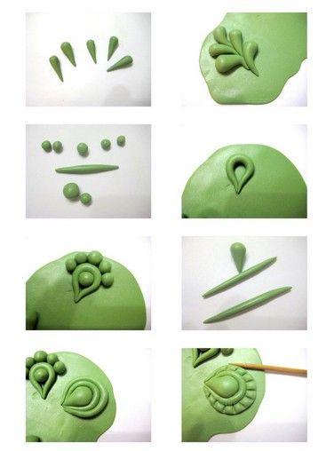 polymer clay applique tutorial