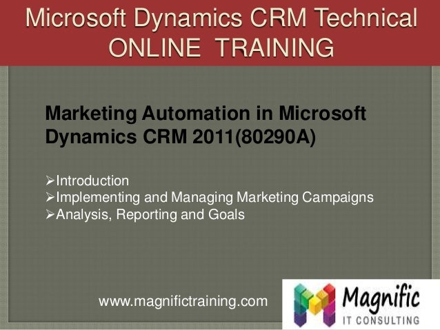 ms dynamics crm tutorial for beginners