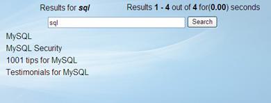 php mysql search tutorial