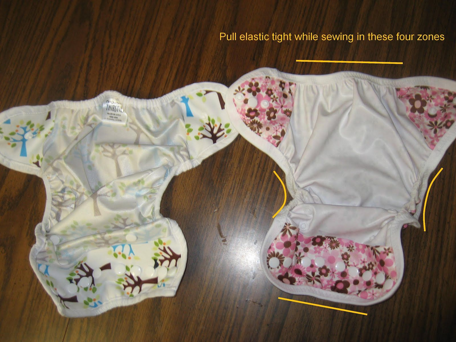 cloth diaper sewing tutorial