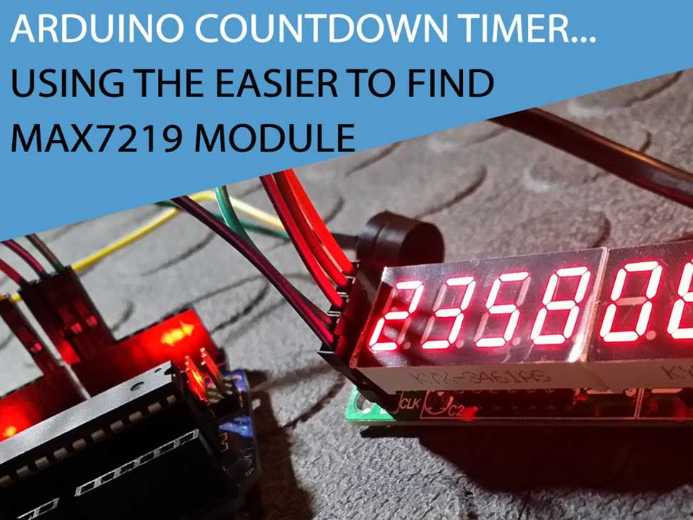 arduino 7 segment display tutorial
