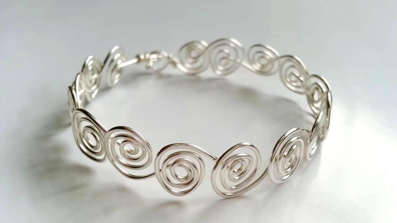 wire weaving bracelet tutorial