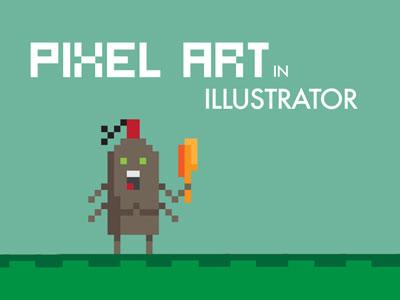 pixel art illustrator tutorial