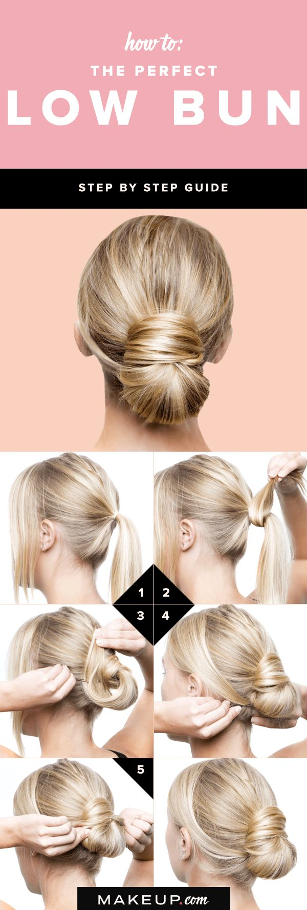 perfect hair bun tutorial