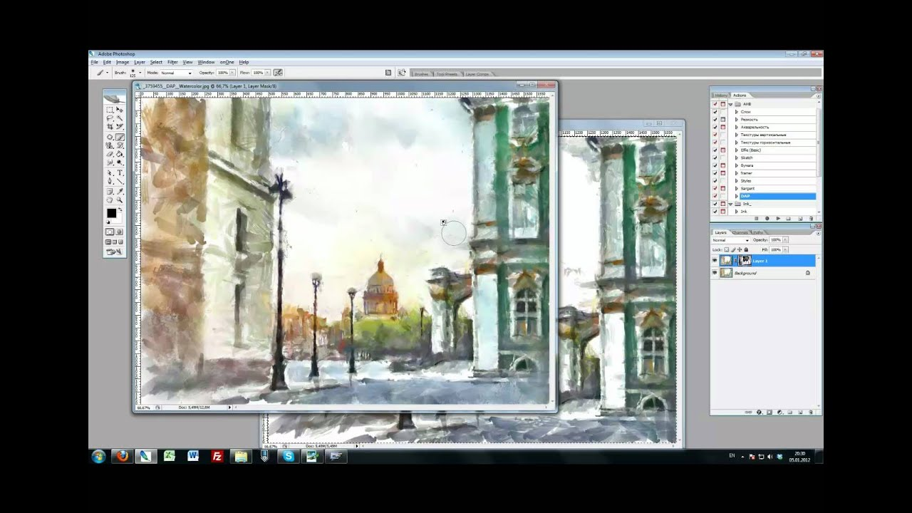 dynamic auto painter tutorial