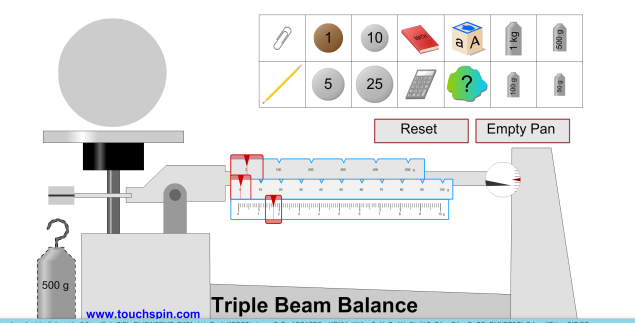 ohaus triple beam balance tutorial