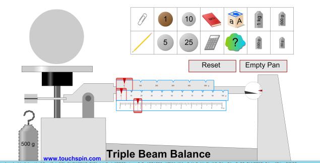 ohaus triple beam balance tutorial