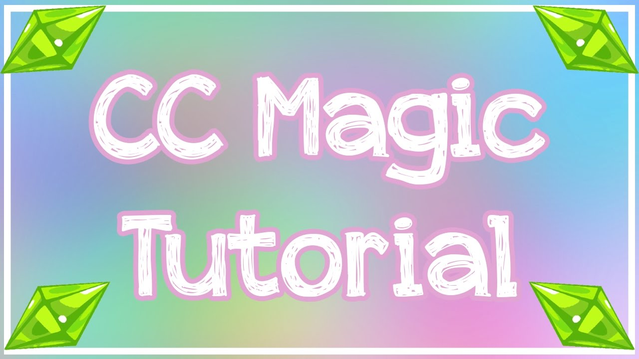 sims 3 custom content tutorial