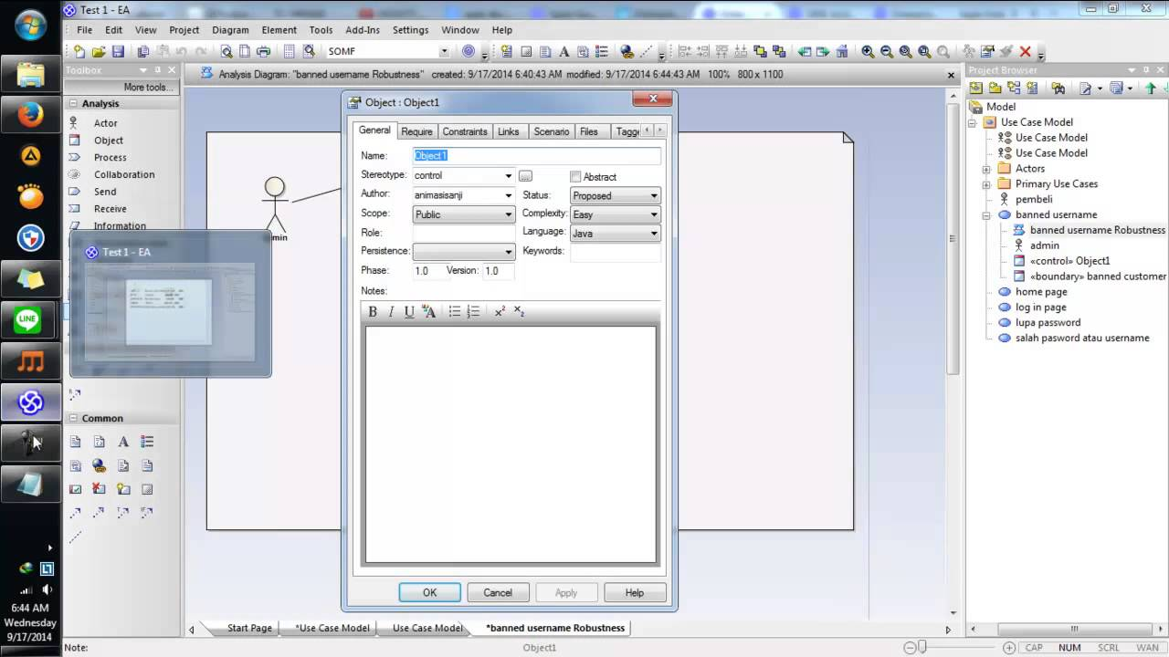 enterprise architect sequence diagram tutorial