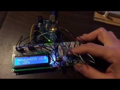 arduino lcd menu tutorial