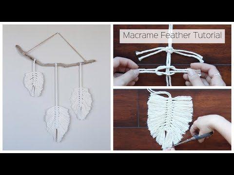 macrame dream catcher tutorial