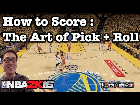 nba 2k11 pick and roll tutorial