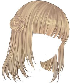 short anime hair tutorial