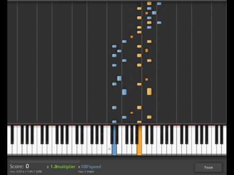 cantina band piano tutorial