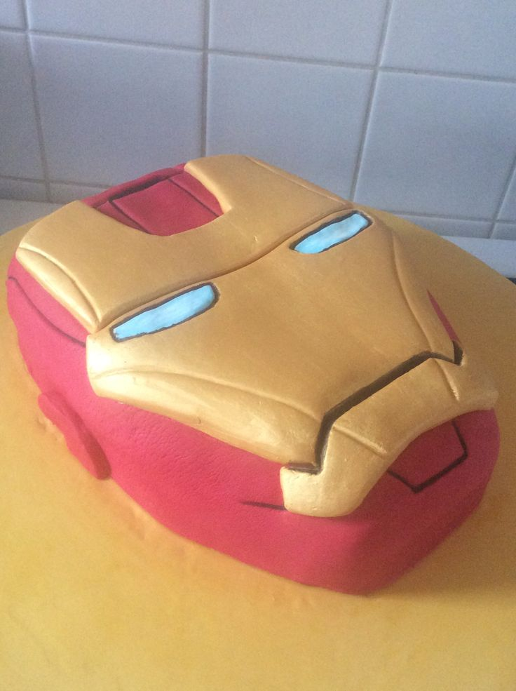 iron man cake tutorial