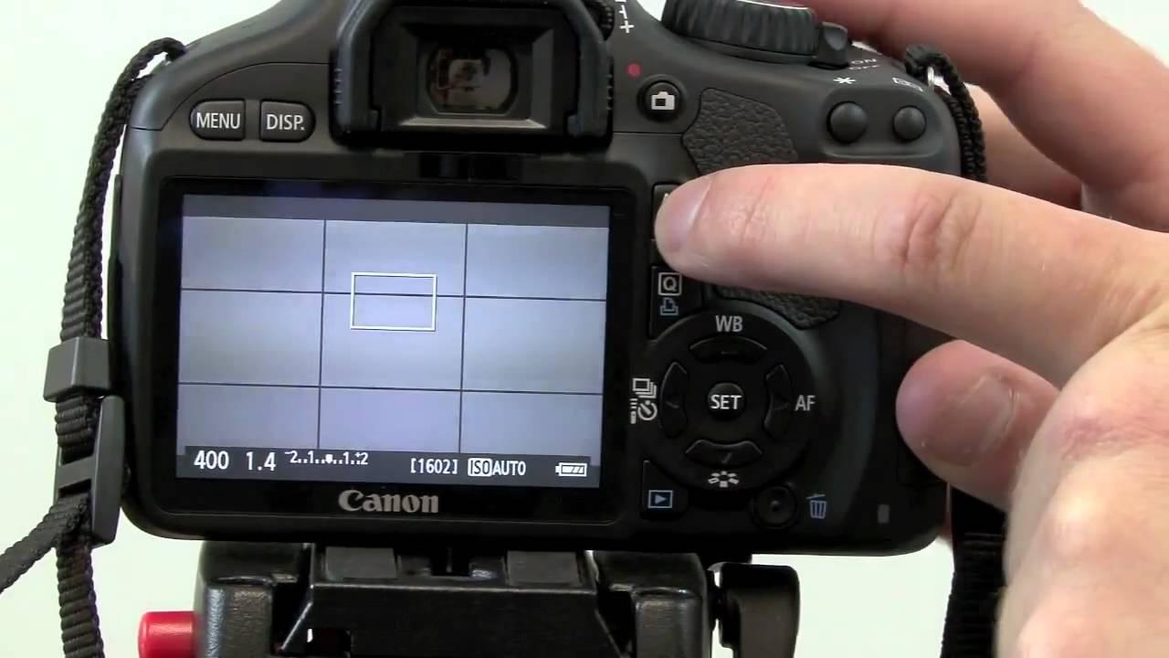 canon eos 550d tutorial