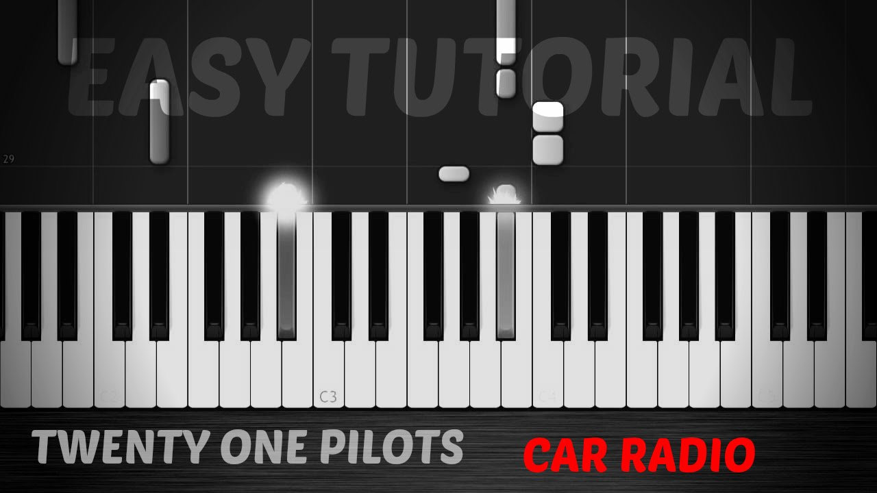 car radio piano tutorial