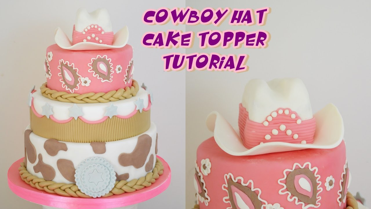 fondant cowboy hat tutorial