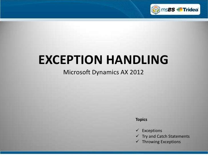 microsoft dynamics ax 2012 tutorial